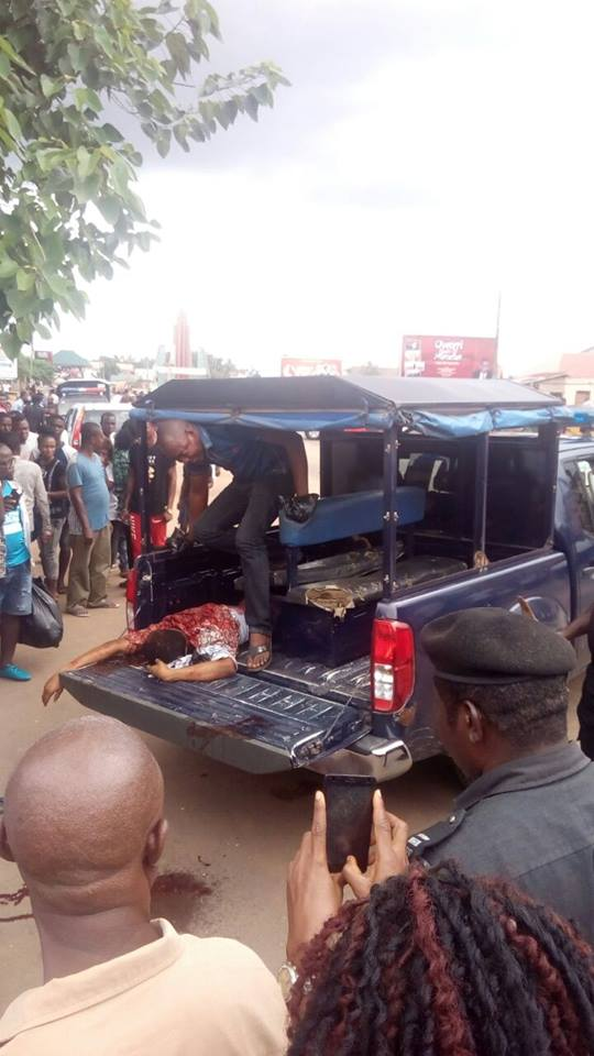 IMSU Final Year Student Shot Dead by Cultists