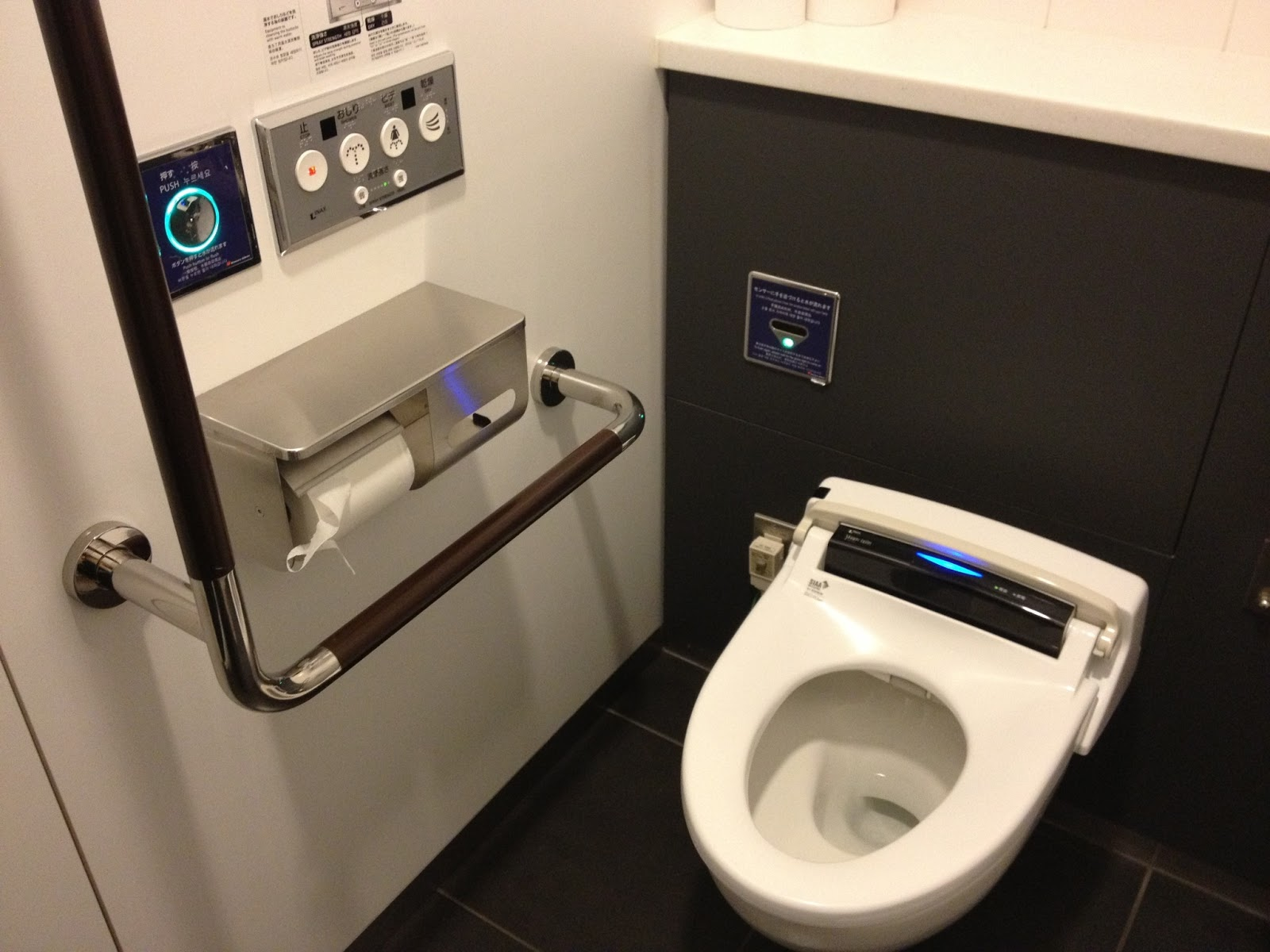 Fancy Toilet Check Out Japanese High Tech Toilets Science Technology