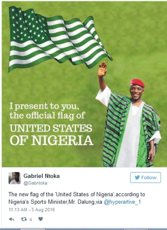 Solomon Dalung's United States Of Nigeria Speech Goes Viral And These Are What People Are Saying