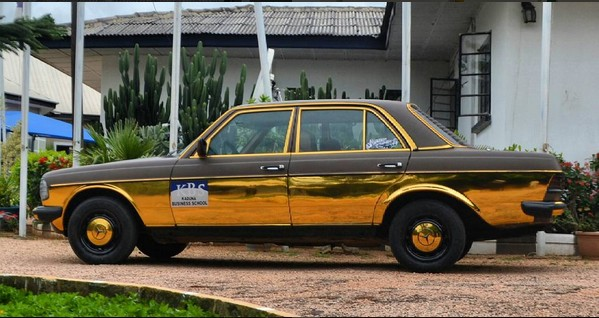 Image result for This is a customised 1982 Benz delivered to the Rector of Kaduna Business School