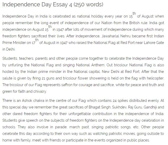 Essay on independence day in hindi wikipedia