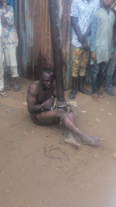 """A Notorious Rapist Was Caught This Early Morning In My Area"" – Kingabdull (Photos)"