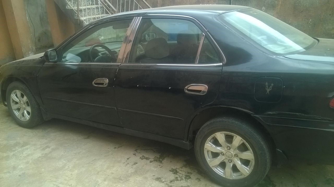 Very Clean Registered 1999 Honda Accord Baby Boy Autos Nigeria Interior And Exterior Good Selective Automatic Gear Alloy Rims First Body Sound Engine Chilled Ac Accident Free No Issue