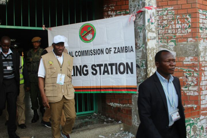 Jonathan Visits Polling Stations In Zambia. Checkout His Outfit (Photos)