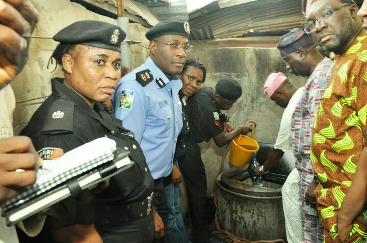 Lagos Police Uncovers Illegal Oil Wells, Shuts 12 Houses