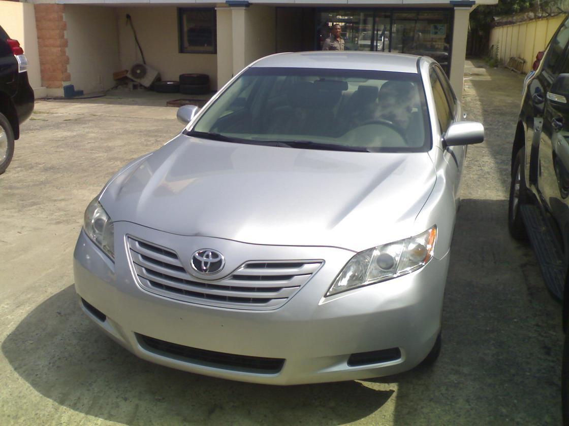 sparkling toyota camry 2007 model le price only autos nigeria. Black Bedroom Furniture Sets. Home Design Ideas