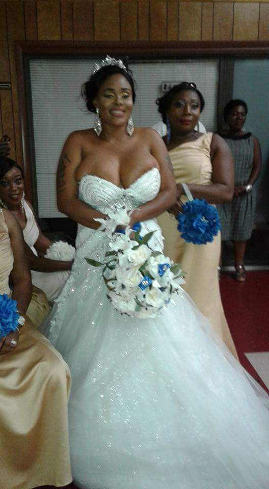 Bride Wears Boobs Popping Wedding Gown Is This Fashion Or