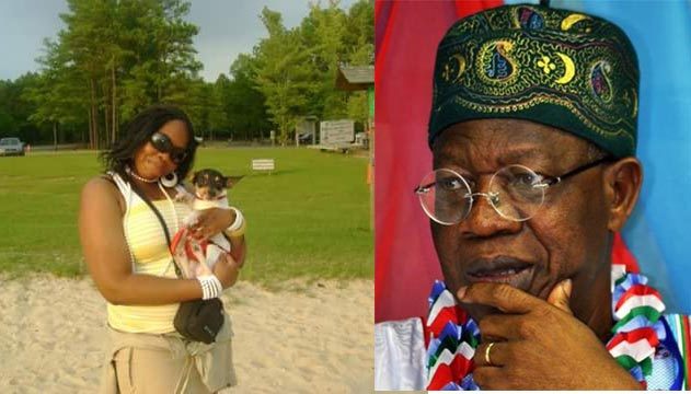 "Ada Names Her Dog ""Lai Mohammed,"" Says It Resembles Information Minister - Pets"