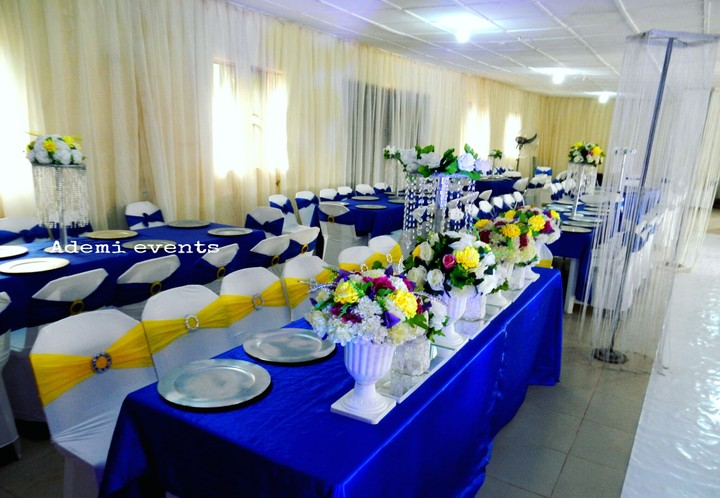 Pictures of lovely wedding reception decorations and cakes for Hall decoration pictures