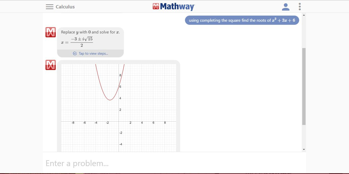 Www.mathway.com Is The End To Your Maths Problems And Begining Of ...