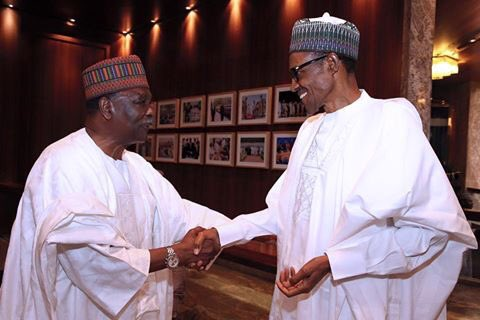 Yakubu Gowon Visits Buhari Today