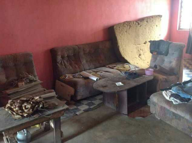 Before And After Photos Of Rashidi Yekini's Mother's House - See Photos