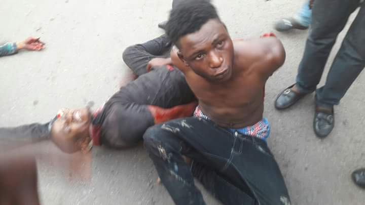 Image result for notorious Armed robber caught in Lagos