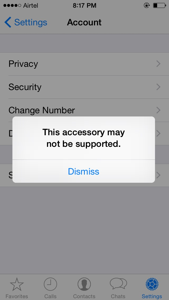 iphone this accessory may not be supported quot this accessory may not be supported quot on iphone phones 1033