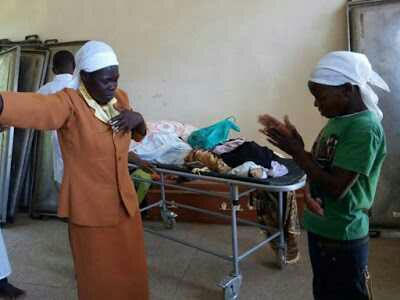Drama As Kenyan Church Members Storm Mortuary To 'Resurrect Dead People' (Photo)