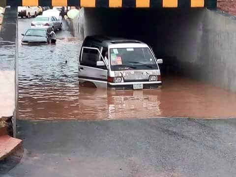 The Newly Constructed Tunnel In Owerri Flooded (Photos)
