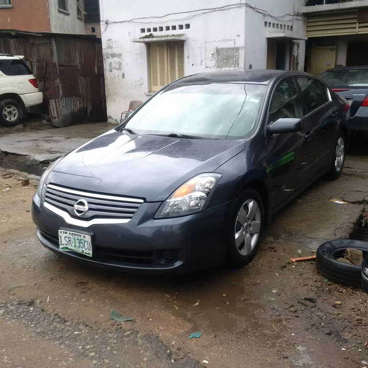 Registered Clean 2008 Nissan Altima (UBER SPECS ) Buy And Drive 1.3M    Autos   Nairaland