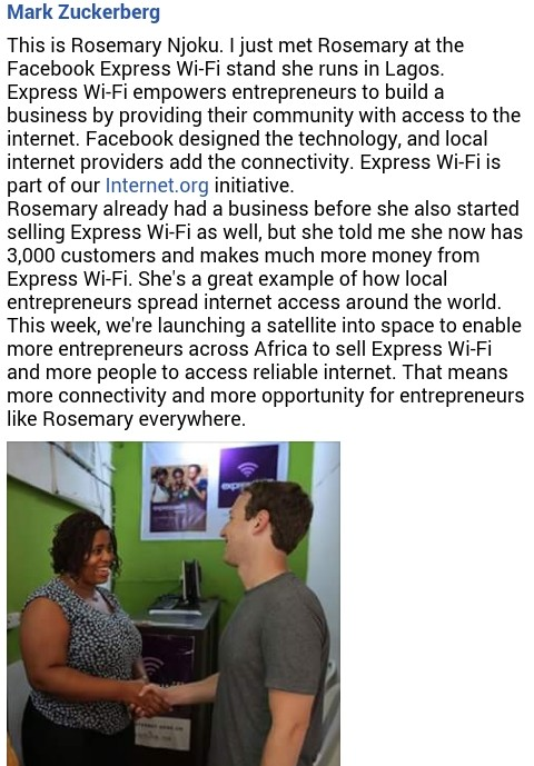 Facebook To Launch Express Wi-Fi In Lagos