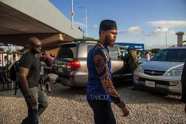 Nigerian-American Artist, Jidenna Arrives Nigeria - See First Photos