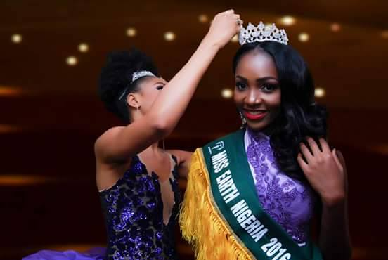 Chioma Tyra Obiadi Wins Miss Earth Nigeria 2016 - Fashion