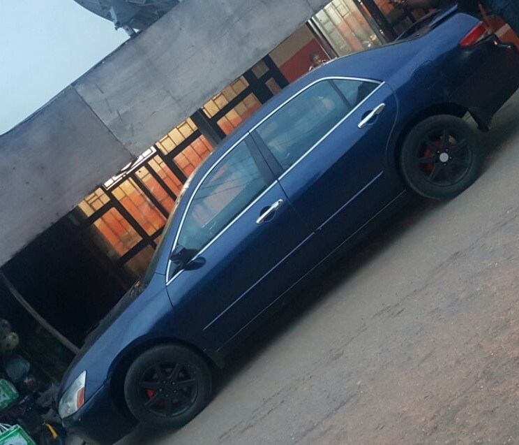 Pimped Out 2004 Honda Accord EOD....PRICE 900K