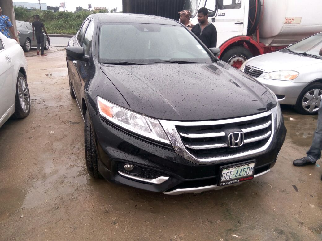 2014 honda crosstour for sale 8m in phc autos nigeria. Black Bedroom Furniture Sets. Home Design Ideas