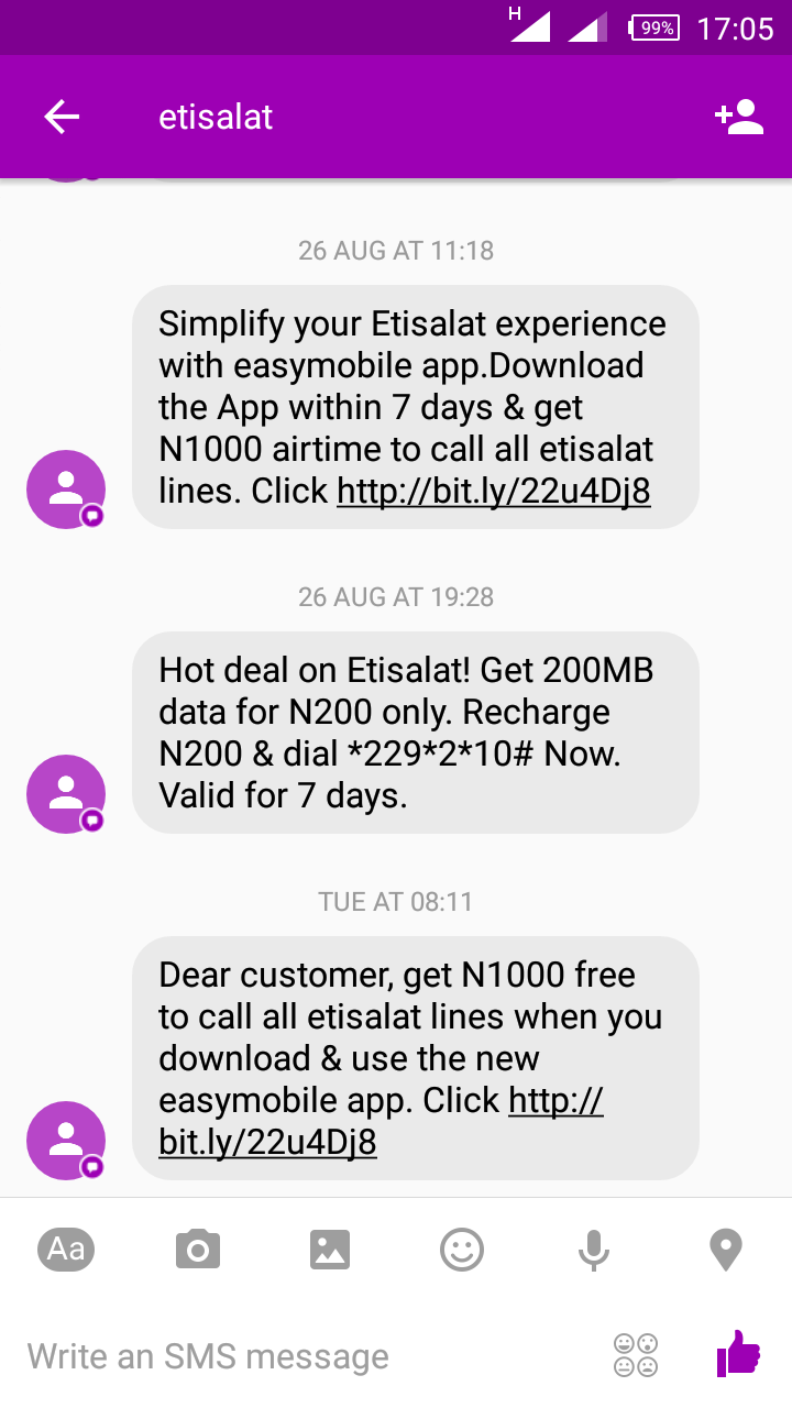 how to send airtime on etisalat