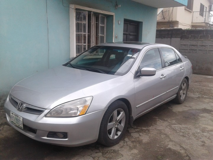 reg honda accord eod 2005 v6 for sale 800k negotiable. Black Bedroom Furniture Sets. Home Design Ideas
