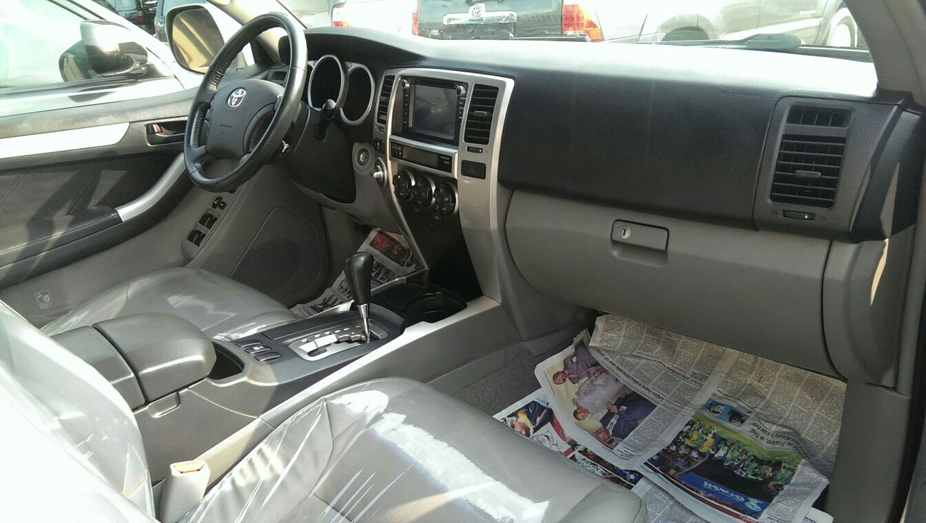 Lovely 2008 Toyota 4runner Limited Special Trim Autos Nigeria