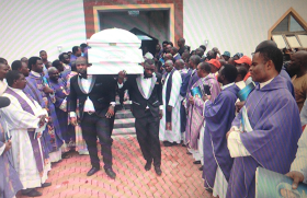 Stella Oduah's Late Son Buried in Anambra