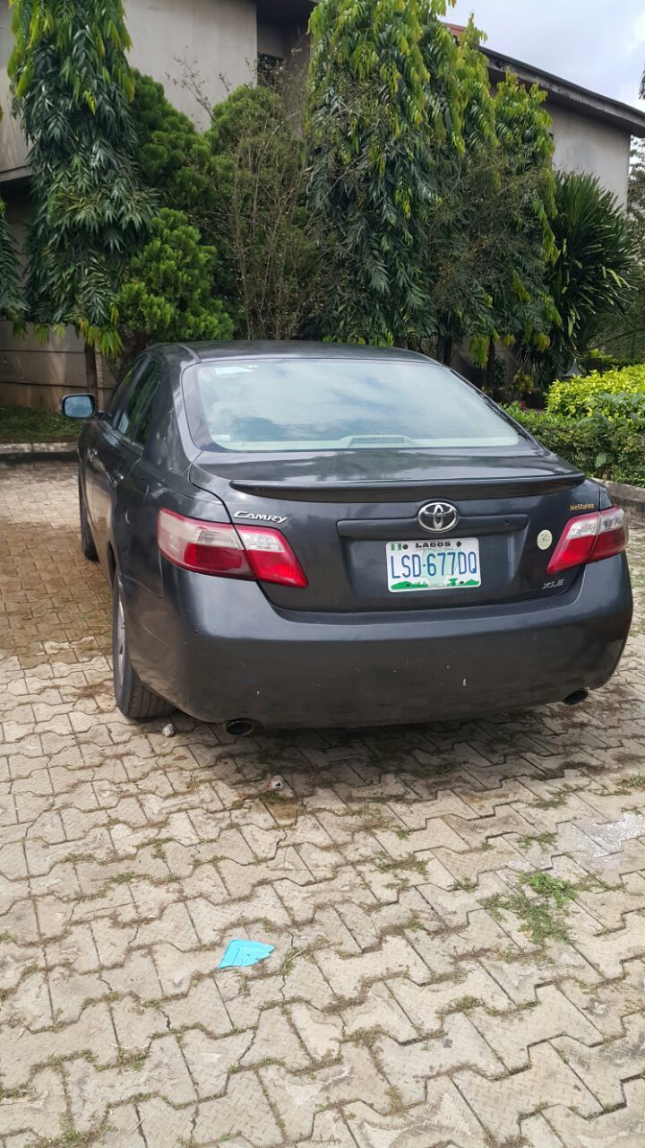 registered 2008 toyota camry xle autos nigeria. Black Bedroom Furniture Sets. Home Design Ideas