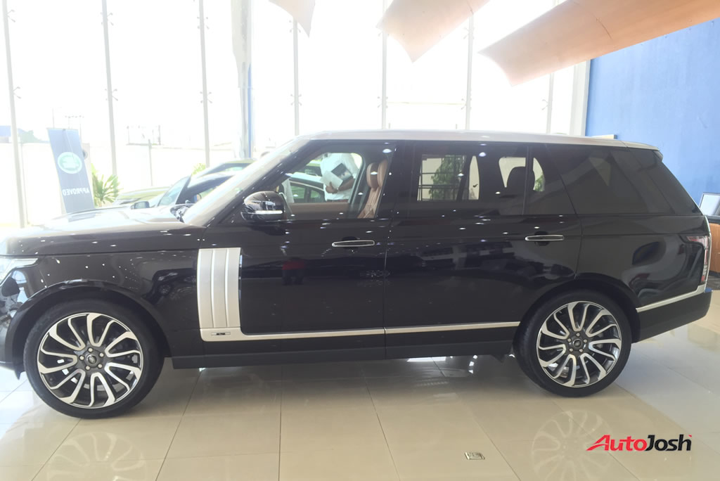 2016 Land Rover Range Rover SV Autobiography Spotted In Lagos - Car ...