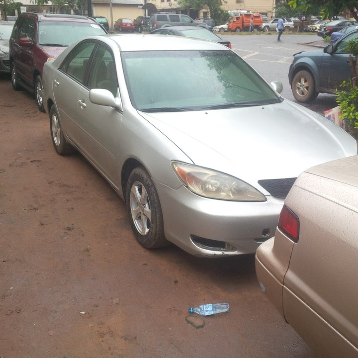 toyota camry 2003model for sale price autos nigeria. Black Bedroom Furniture Sets. Home Design Ideas