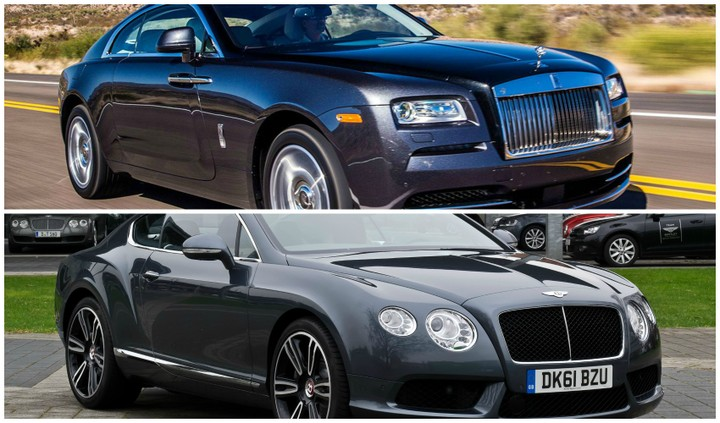 Bentley Gt Vs Rolls Royce:which Is More Preferable (pics