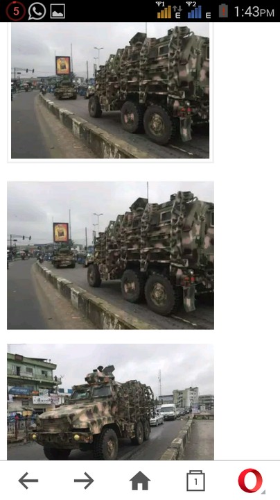 De Land (FL) United States  city photo : The 24 MRAPS The United State Donated To Nigeria All Looking New After ...