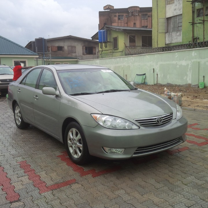 sold tin can cleared 2006 toyota camry xle autos nigeria. Black Bedroom Furniture Sets. Home Design Ideas