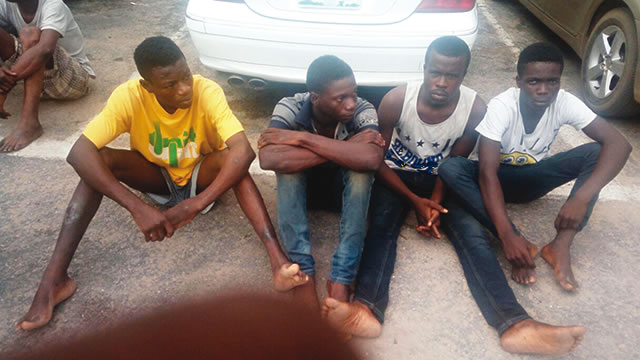 4 Teenagers Arrested In Lagos For Kidnapping Expatriates And Oil Theft (See Photo)