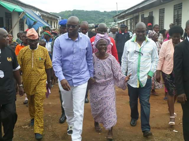 Unlock Your Shops Or Forfeit Them To The Government – Fayose Tells Shop Owners (Photos)
