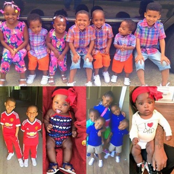 Meet The 25-Yr Old Lady With 9 Kids That Has Got People Talking[Photos]
