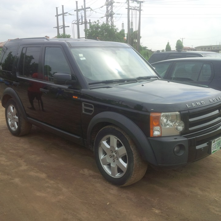 Neatly Used Land Rover Jeep LR3 2008 Model 2.5m