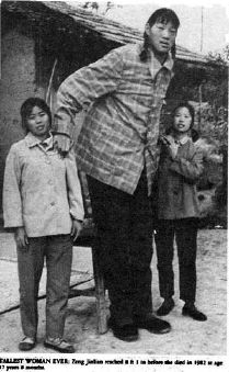 the tallest man and woman ever in the world photos and