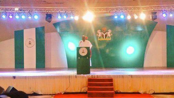"Buhari's Speech At The Launch Of ""Change Begins With Me"", See The Official Logo"