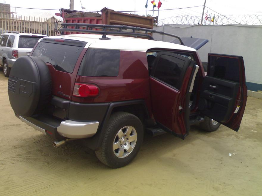 2008 Toyota Fj Cruiser 4x4 With Leather Interior Price