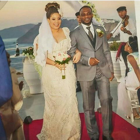 Image result for Monalisa Chinda Shares Photos From Her Wedding In Greece