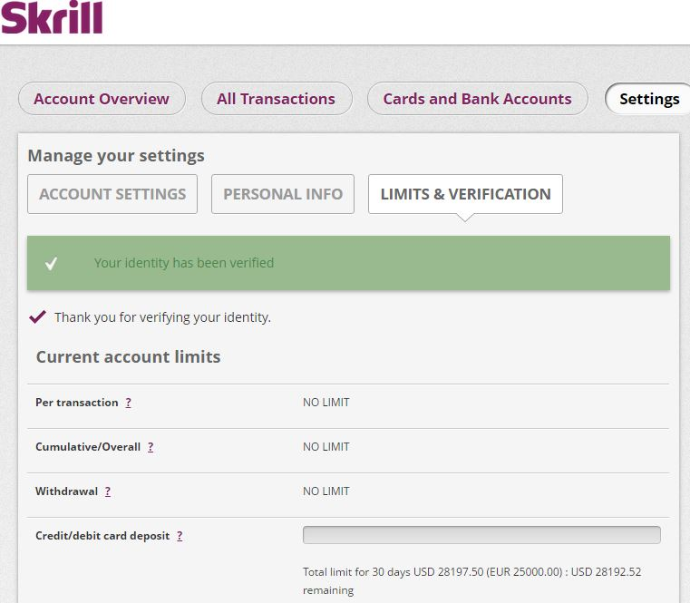 Skrill forex rate