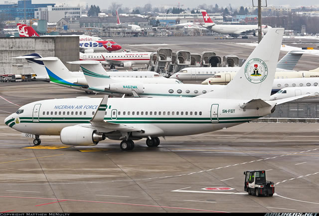 FG Spends N5bn On Presidential Fleet In 15 Months