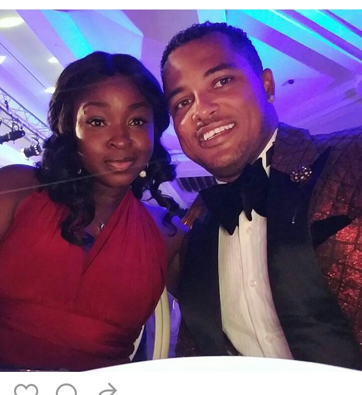 Ghanaian Star Actor, Van Vicker, Shares Photos With His Wife