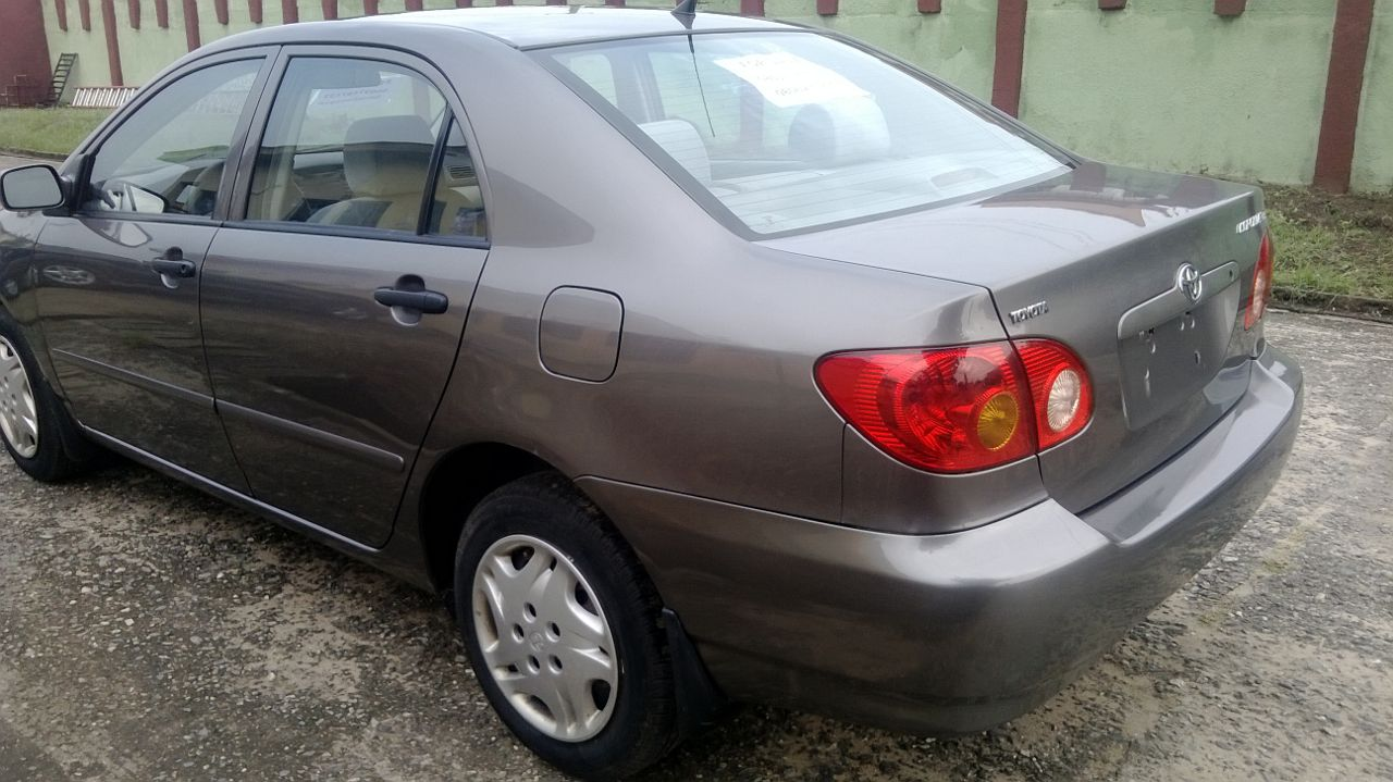 toyota corolla 2004 model for sale car talk nigeria. Black Bedroom Furniture Sets. Home Design Ideas