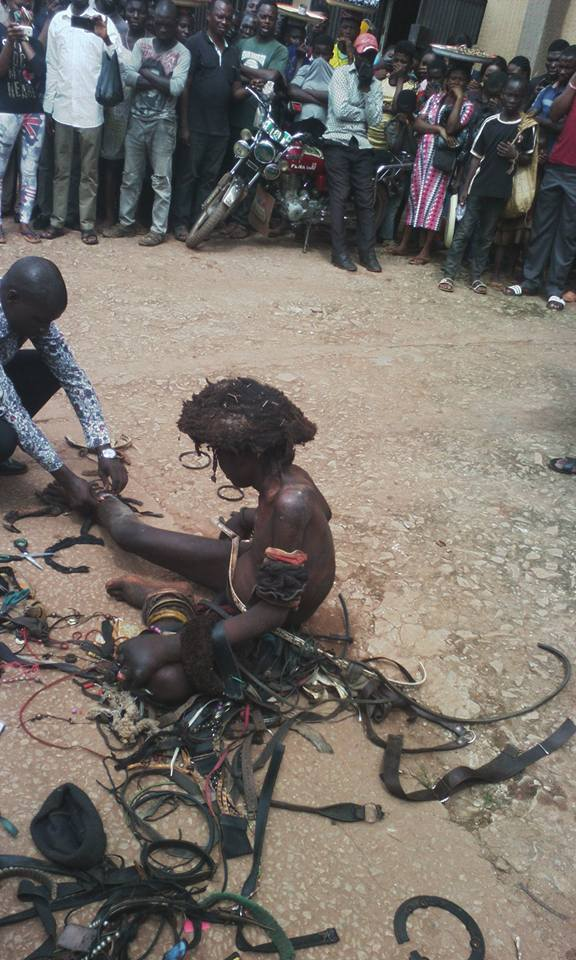 "Miracle!! Pastor ""Heals Mad Man"" In Abakaliki, Ebonyi State (See Photos)"