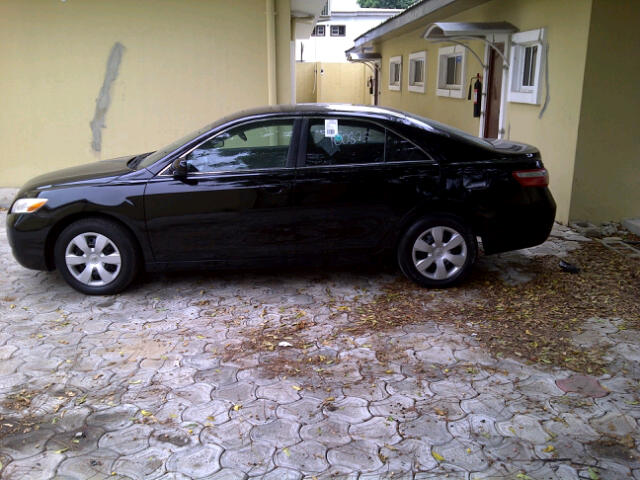 clean tokunbo toyota camry 2008 3m autos nigeria. Black Bedroom Furniture Sets. Home Design Ideas